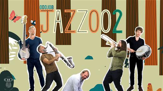 Bild för Goran Kajfes Jazzoo (barnföreställning), 2019-08-04, Solhällan