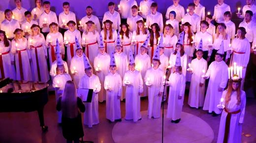 Bild för Julkonsert, Sollentuna Goss- och Diskantkör, 2019-12-08, Riddarhuset