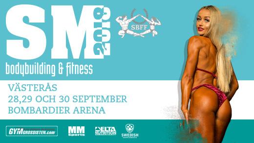 Bild för SM Bodybuilding & Fitness 2018, 2018-09-28, Bombardier Arena