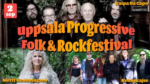 Bild för Uppsala Progressive Folk & Rock Festival, 2017-09-02, Parksnäckan i Uppsala Stadsträdgård