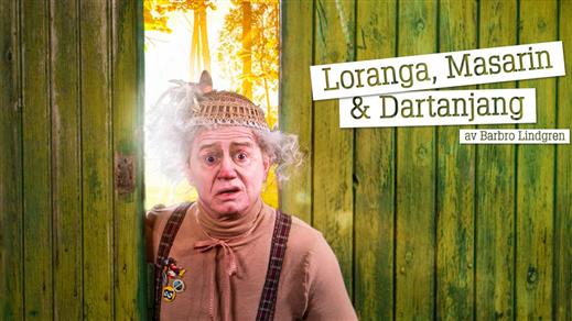 Bild för Loranga, Masarin & Dartanjang 28/4 kl. 15:00, 2019-04-28, Salong Stora Scenen, Västerbottensteatern