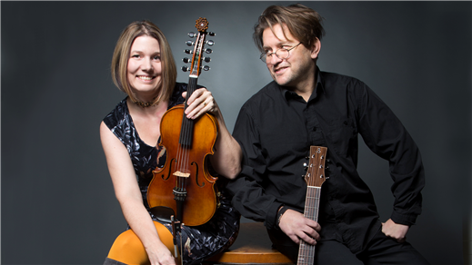 Bild för 210825 Zorns folkmusik med Jeanett & Peter, 2021-08-25, Stallet - Världens Musik