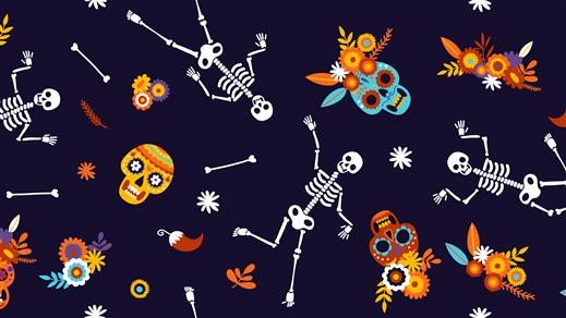Bild för Skelett-och lyktverkstad, 2020-10-29, Världskulturmuseet