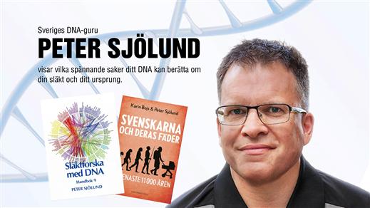 Bild för Peter Sjölund - DNA föreläsning, 2018-11-24, Saga Bio Åmål