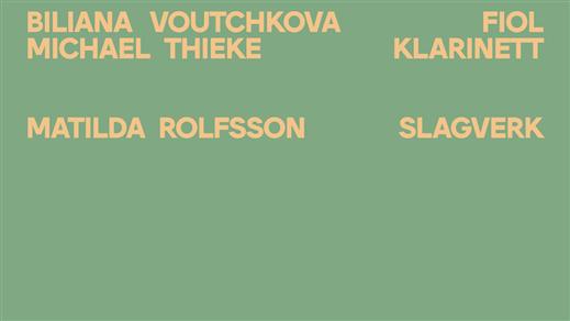 Bild för FRIM på FYLKINGEN #9: Voutchkova/Thieke et al, 2018-11-15, Fylkingen