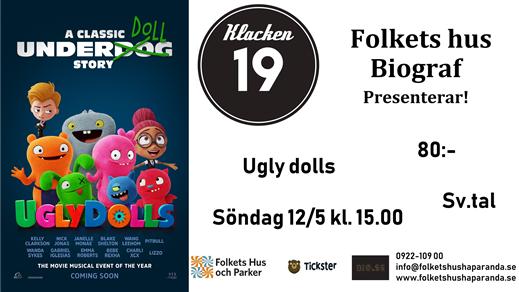 Bild för UglyDolls (Sv. tal), 2019-05-12, Biosalongen Folkets Hus
