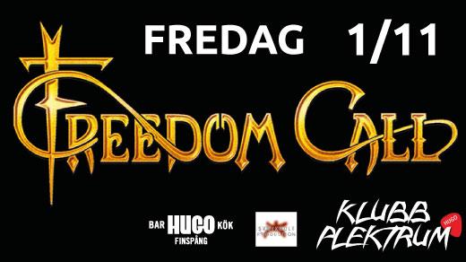 Bild för Freedom Call - Klubb Plektrum, 2019-11-01, Hugo Finspång