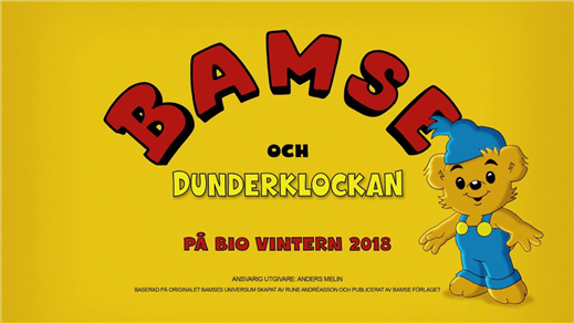 Bild för Bamse och dunderklockan, 2018-12-30, Emmaboda Folkets Hus