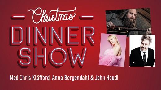 Bild för Christmas Dinnershow med Chris, Anna och John!, 2020-12-04, Conventum Kongress-