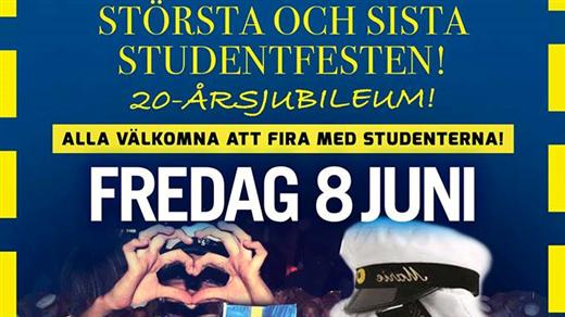 """Bild för """"Sista"""" Studentfesten 2018, 2018-06-08, Björksäter Event Hässleholm"""
