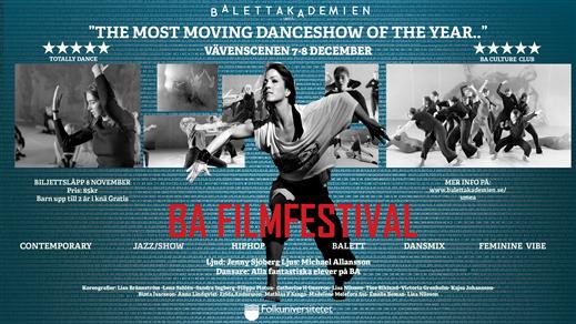 Bild för BA Filmfestival, 2019-12-07, Vävenscenen