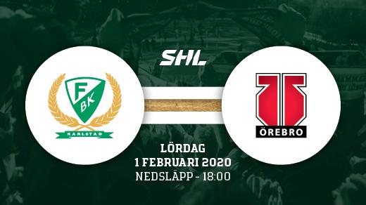 Bild för FÄRJESTAD BK - ÖREBRO, 2020-02-01, Löfbergs Arena