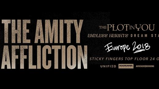 Bild för The Amity Affliction European Tour 2018, 2018-10-24, Sticky Fingers