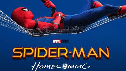 Bild för Spider-Man (Sal.2 11år Kl. 19:30 2t 13m), 2017-07-17, Saga Salong 2