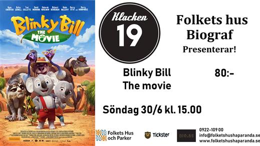 Bild för Blinky Bill Filmen (Sv. tal), 2019-06-30, Biosalongen Folkets Hus