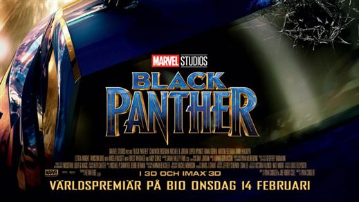 Bild för Black Panther, 2018-02-18, Bräcke Folkets hus