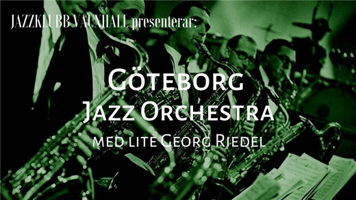 Bild för Jazzklubb Vauxhall: GJO - jazz är kul!, 2020-05-04, Contrast Public House, Tredje Långgatan 16