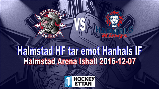 Bild för Halmstad HF vs. Hanhals IF, 2016-12-07, Halmstad Arena