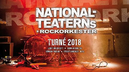 Bild för Nationalteaterns Rockorkester, 2018-02-24, UKK - Stora salen