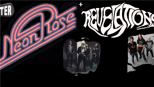 Bild för Neon Rose + Revelations, 2016-09-30, Bomber Bar Motala