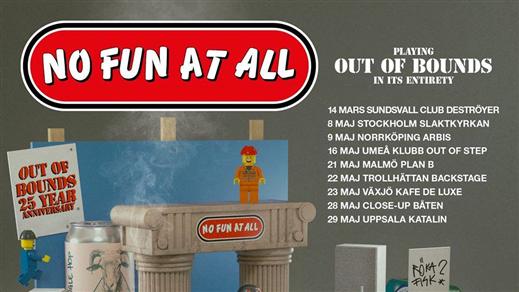 Bild för No Fun At All // Plan B mö, 2020-09-26, Plan B - Malmö