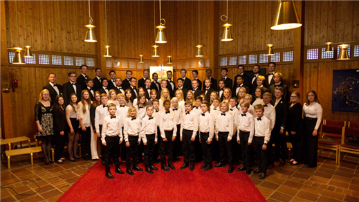 Bild för Sollentuna Goss- / Diskantkör      Vårkonsert 2019, 2019-05-10, Edsvik konsthall