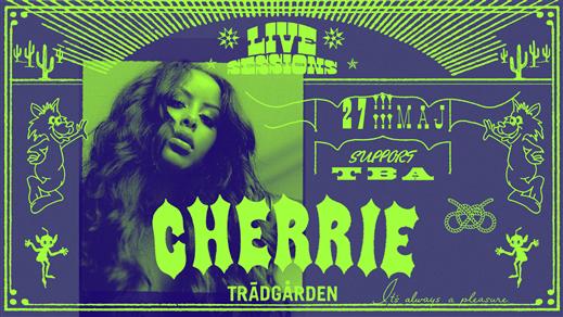 Bild för Live Sessions: Cherrie, 2020-08-19, Trädgården