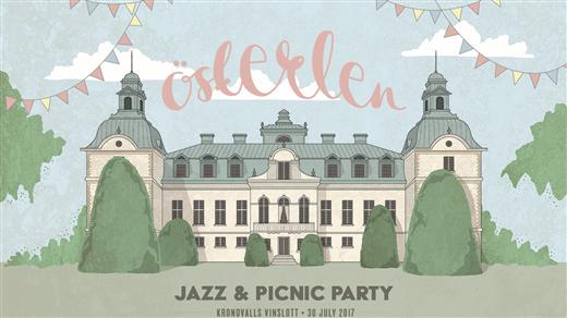 Bild för Österlen jazz & picnic party, 2017-07-30, Kronovalls Vinslott