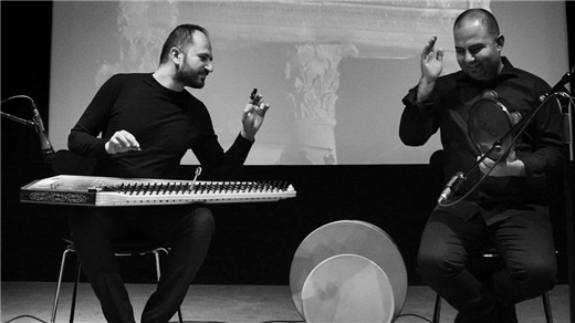 Bild för 190412 Feras Charestan & George Oro, 2019-04-12, Stallet - Världens Musik