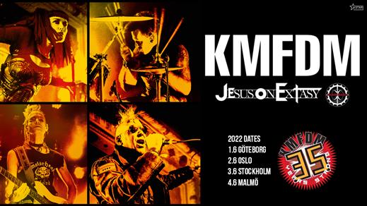 Bild för KMFDM, 2022-06-01, Pustervik