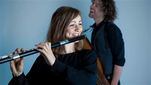 """Bild för Duo West/Rydvall – """"Bach i folkton"""", 2021-10-23, Landskrona Teater"""