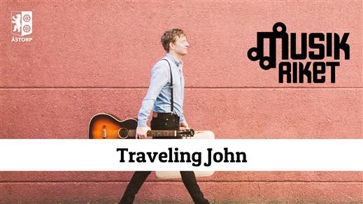 Bild för Musikriket: Traveling John, 2021-11-18, Kvidinge hembygdshall