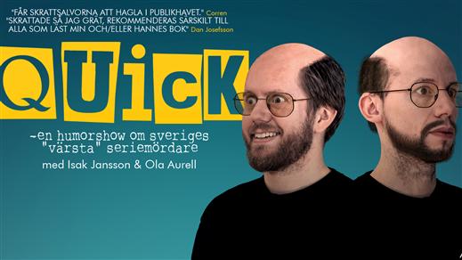 Bild för Quick - En humorshow - HELSINGBORG, 2018-10-26, Charles Dickens