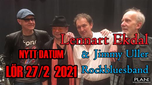 Bild för LENNART EKDAL & JIMMY ULLER BAND, 2021-02-27, Plan B