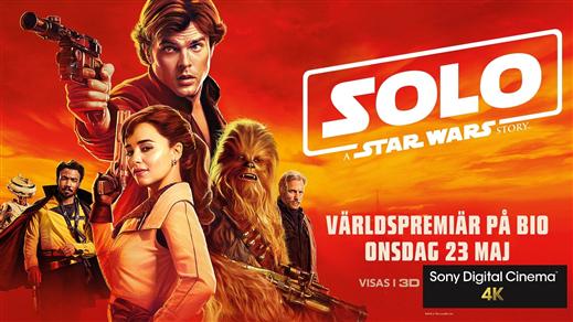 Bild för Solo: A Star Wars Story - Premiär, 2018-05-23, Kulturhuset i Svalöv
