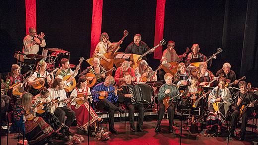 Bild för 190210 Södra Bergens Balalaikor 50 år extrakonsert, 2019-02-10, Stallet - Världens Musik