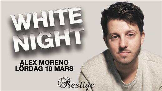 Bild för White Night med Alex Moreno, 2018-03-10, Prestige Kramfors