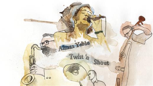 Bild för Almaz Yebio Twist´n Shout, 2016-12-06, Teaterrestaurangen
