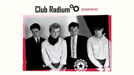 Bild för Club Radium presenterar: Lustans Lakejer, 2017-01-06, Nöjesfabriken