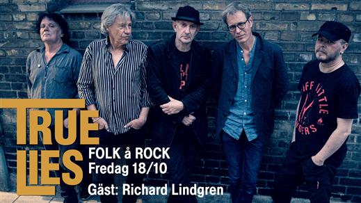 Bild för True Lies + Richard Lindgren, 2019-10-18, Folk Å Rock