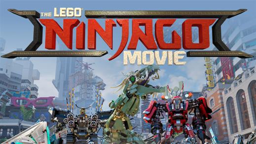 Bild för Lego Ninjago Movie (Sal.3 7år kl.17:45 1t41m), 2017-10-13, Saga Salong 3