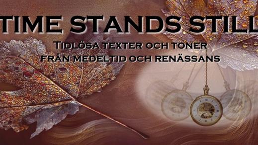 Bild för Time stands still, 2019-10-20, Nikolaikyrkan Örebro