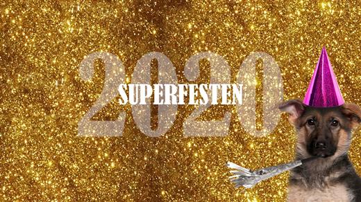 Bild för Superfesten 2020 -  TESTEVENEMANG, 2020-12-31, Oscarsteatern