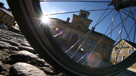 Bild för Från Eskilstuna till Torshälla på två hjul, 2018-08-11, Rothoffsvillan, Tullgatan 4