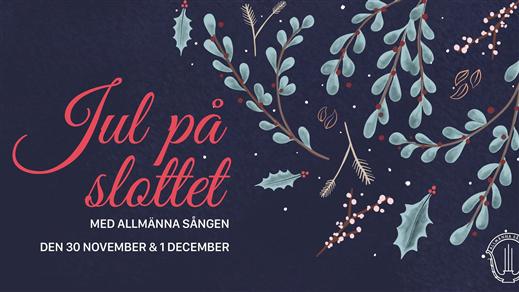 Bild för Jul på slottet med Allmänna Sången - söndag, 2019-12-01, Uppsala Slott