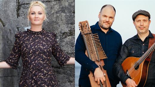 Bild för 211210 Hazelius Hedin & Sigrid Moldestad, 2021-12-10, Stallet - Världens Musik