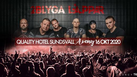Bild för 2 Blyga Läppar (endast entré), 2020-10-16, Quality Hotel Sundsvall