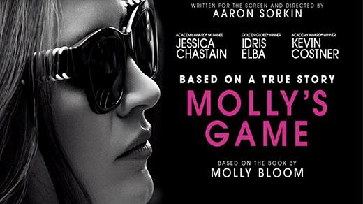 Bild för Molly's Game, 2018-01-21, Biosalongen Folkets Hus