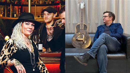 Bild för Jenny Blue & The Tombstone Shadows + Mattias Malm, 2021-11-04, medley – musik, mat & mer