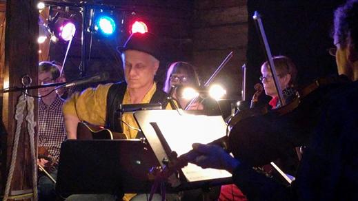 Bild för Rolf Carlsson & Kristinehamns Stråkorkester, 2017-12-02, Folkets hus